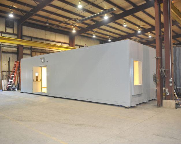 prefabricated building walls modular blast resistant buildings portable blast proof building